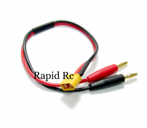 XT60 Charge Cable 4mm Banana plug